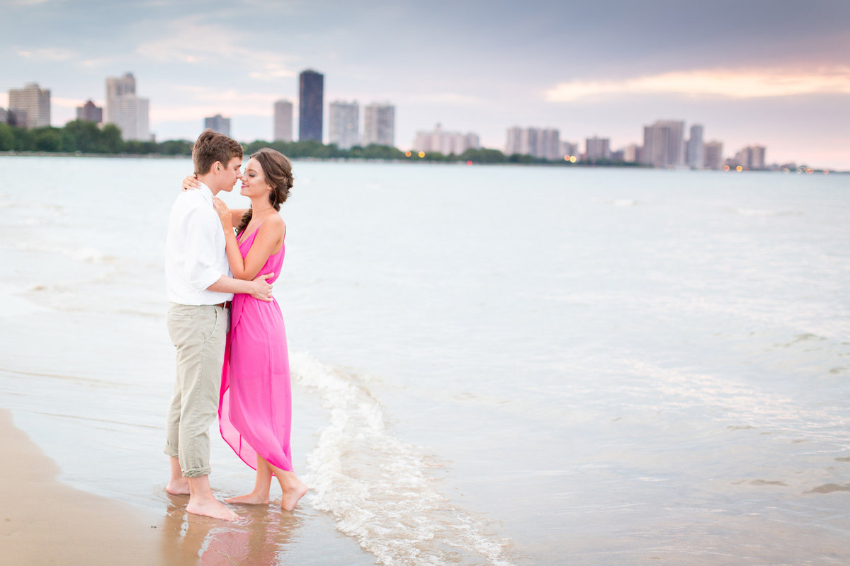 montrose-beach-engagement-session