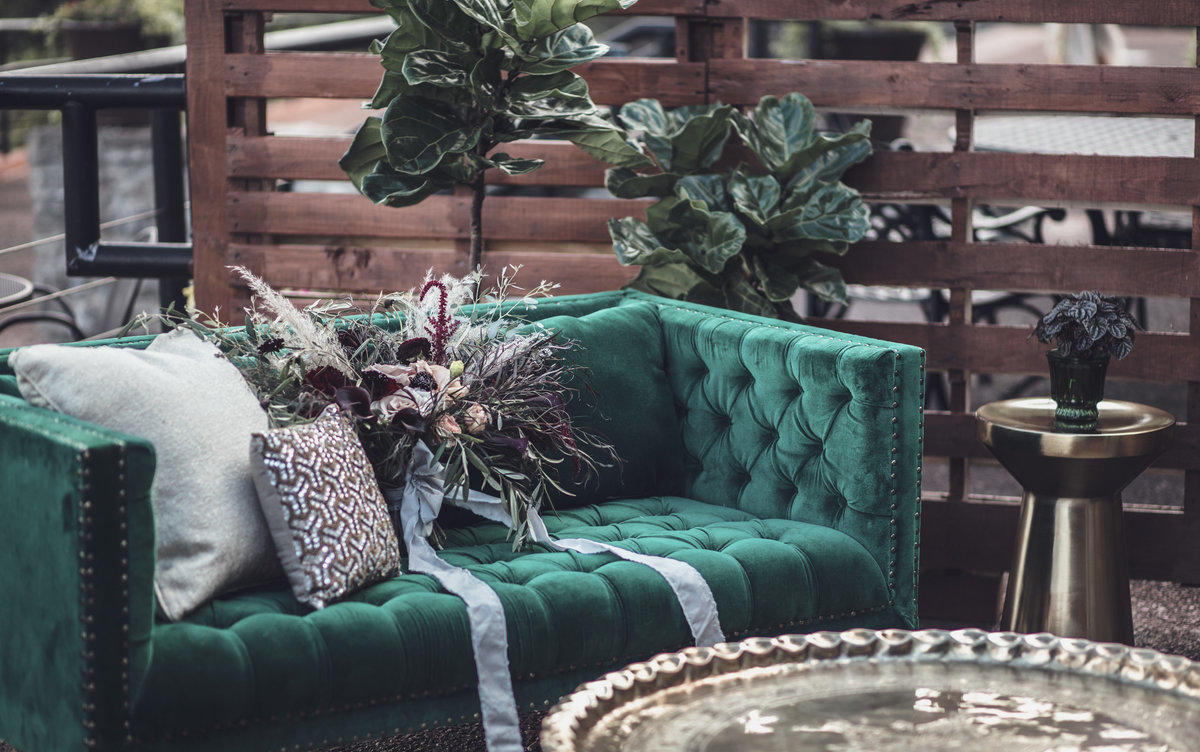Boho Lounge Seating - Fall Wedding - Rochester NY - Verve EVent Co (1)