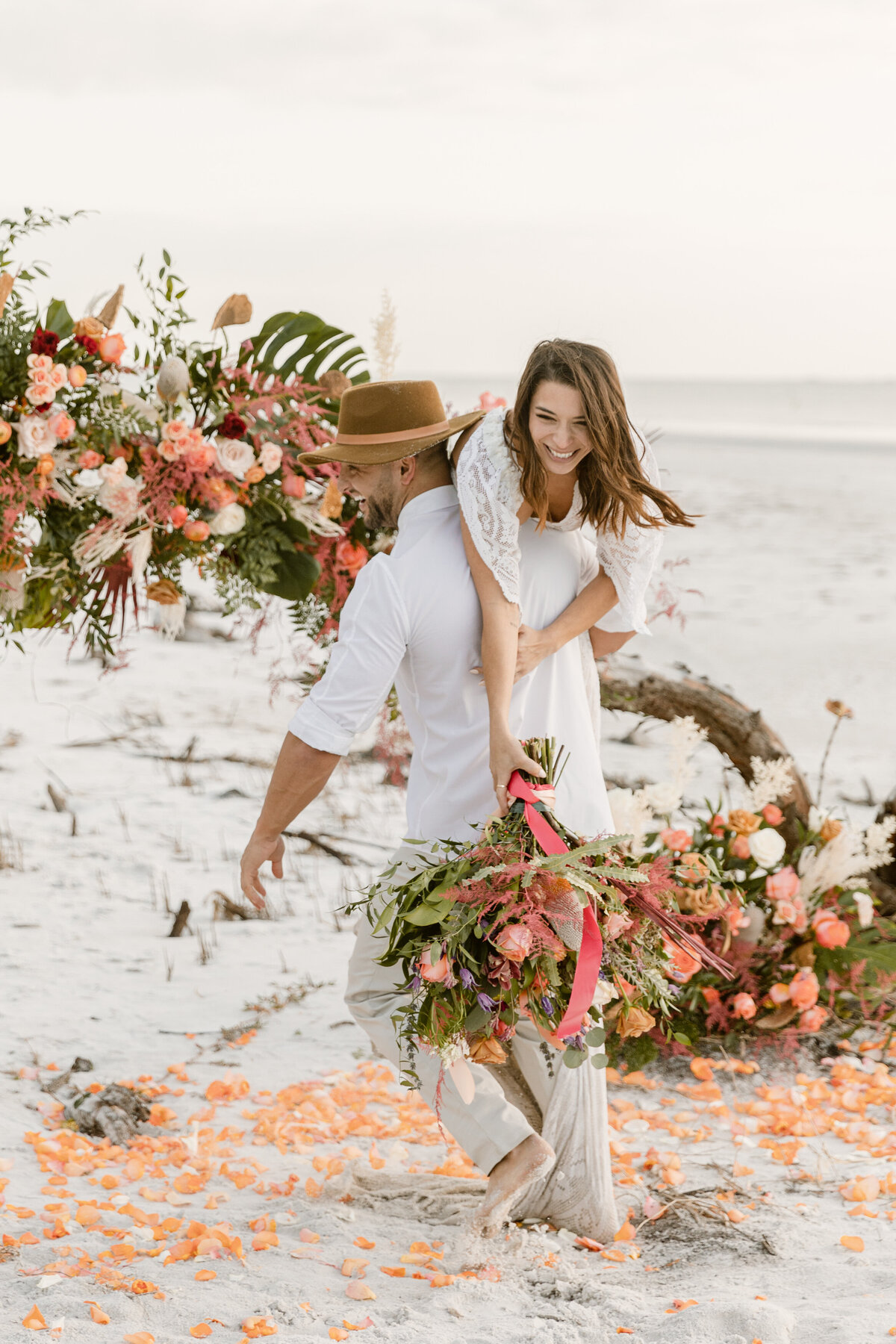 Beach Elopement in Saint Petersburg, Florida 30