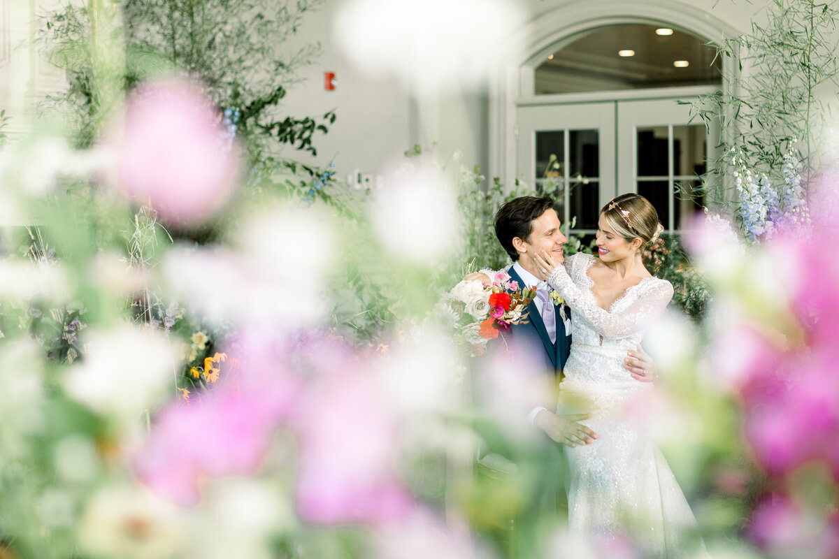 Colorful Wild flower Wedding  at the  Park Chateau Estate and Gardens New Jersey