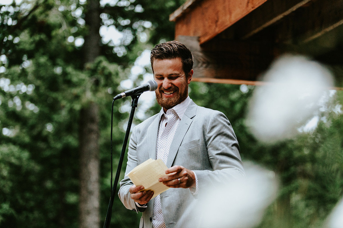 best man speech in Nederland Colorado