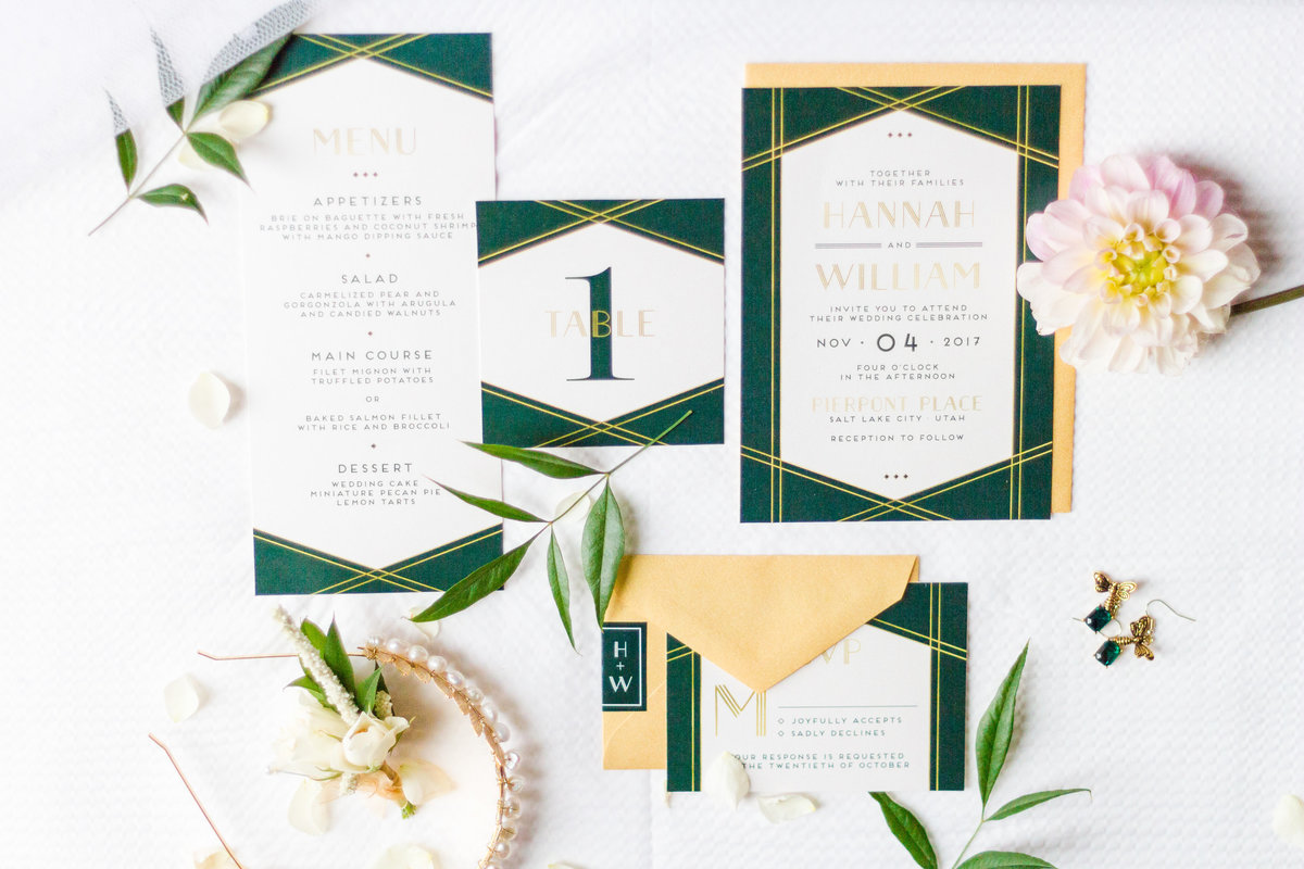 Emerald and Gold Wedding Inspiration-0011