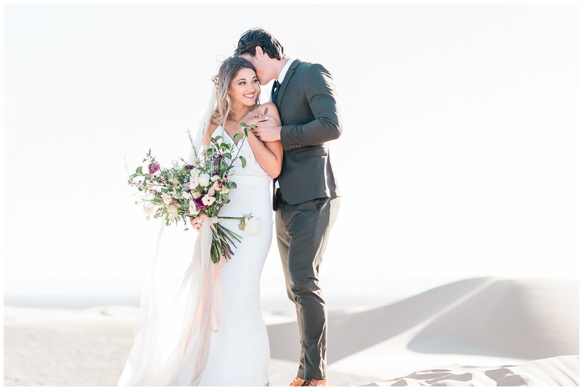 Glamis Desert Bohemian Wedding Styled elopement southern california sand dunes photo003