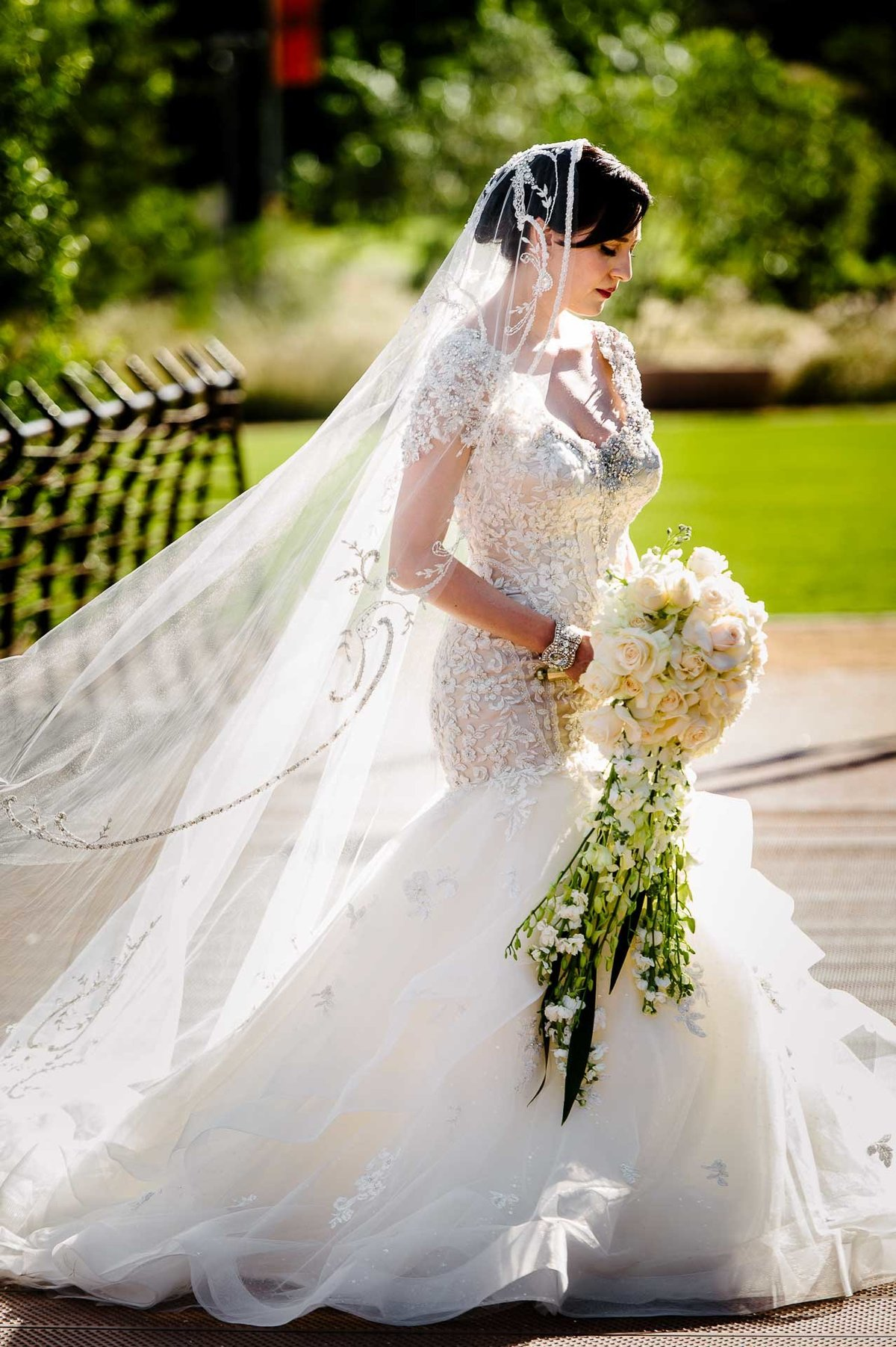 bride at utep in el paso texas by stephane lemaire photography