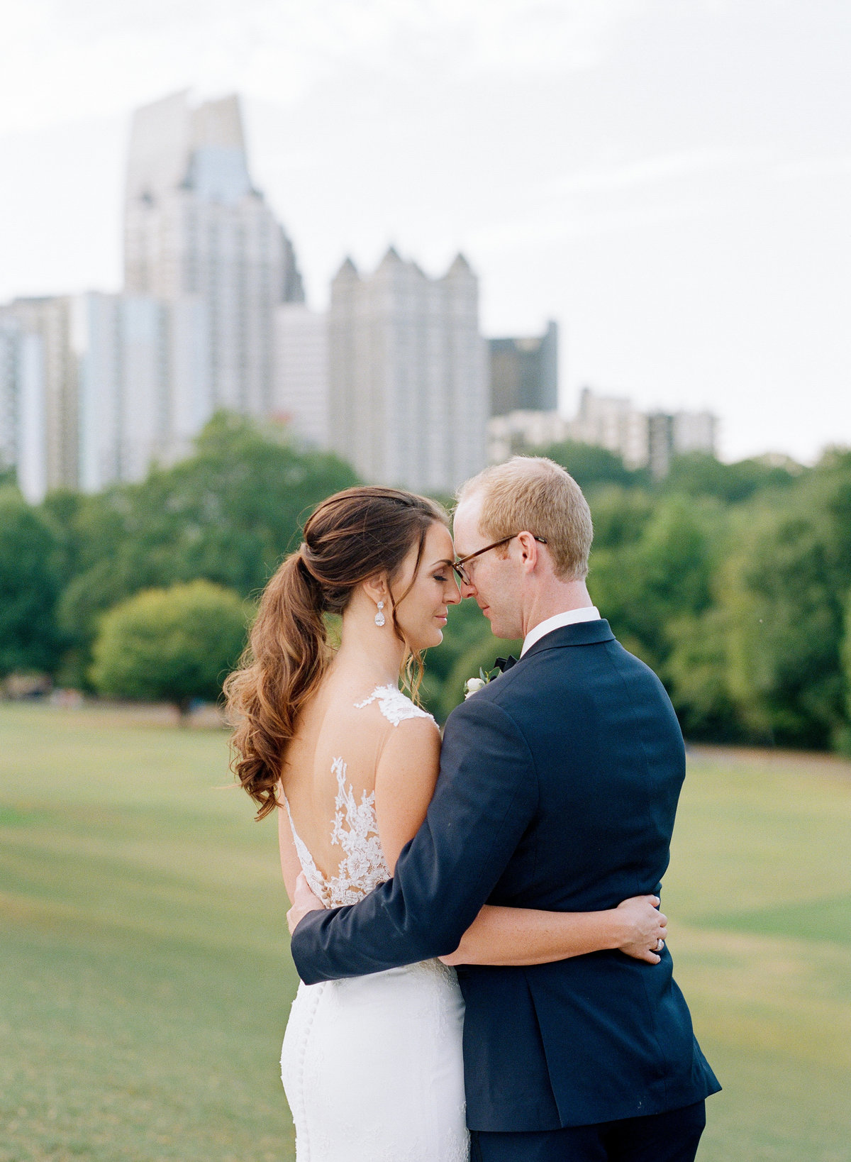 Wedding Sunset Photos Piedmont Park