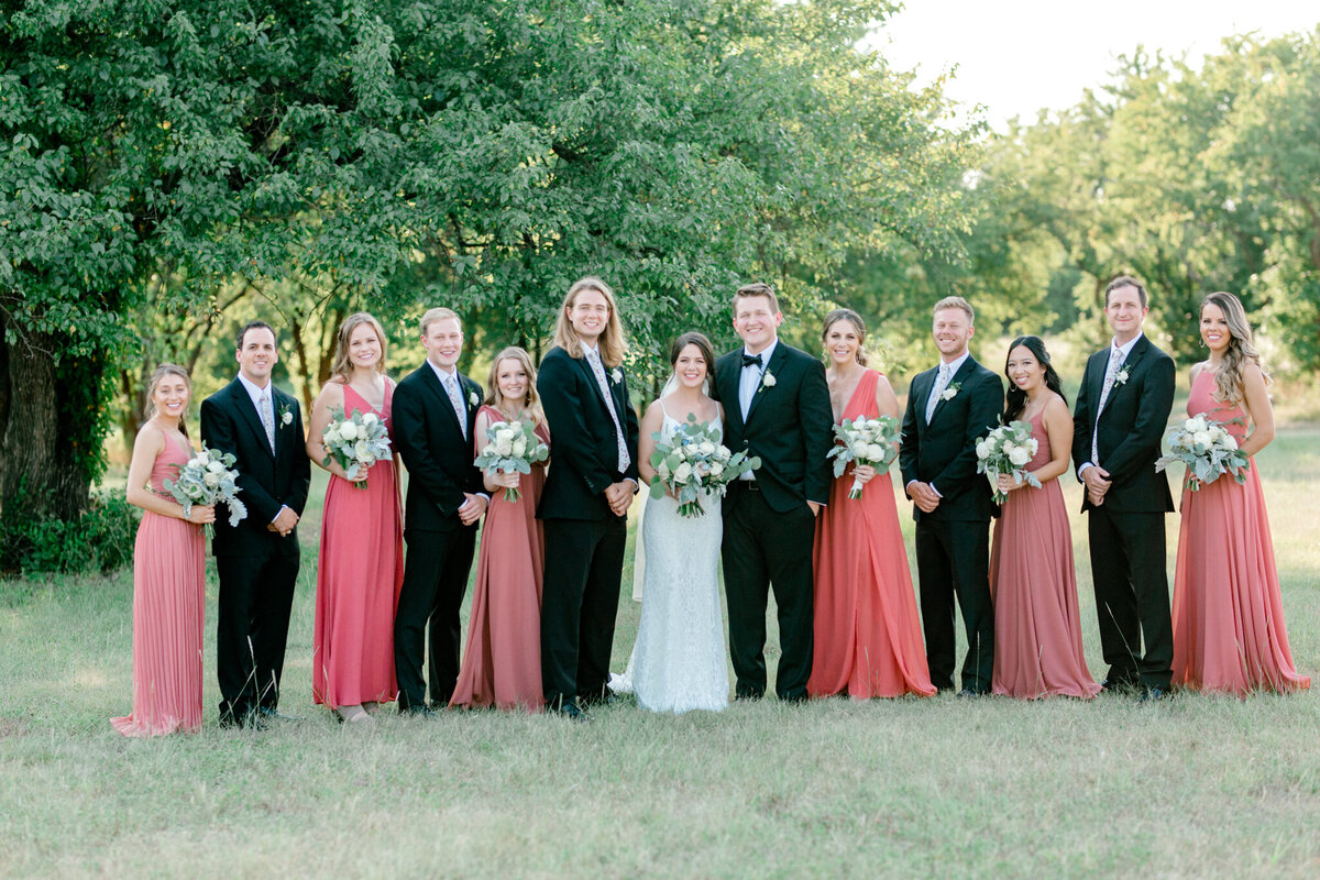 Anna & Billy's Wedding at The Nest at Ruth Farms | Dallas Wedding Photographer | Sami Kathryn Photography-157