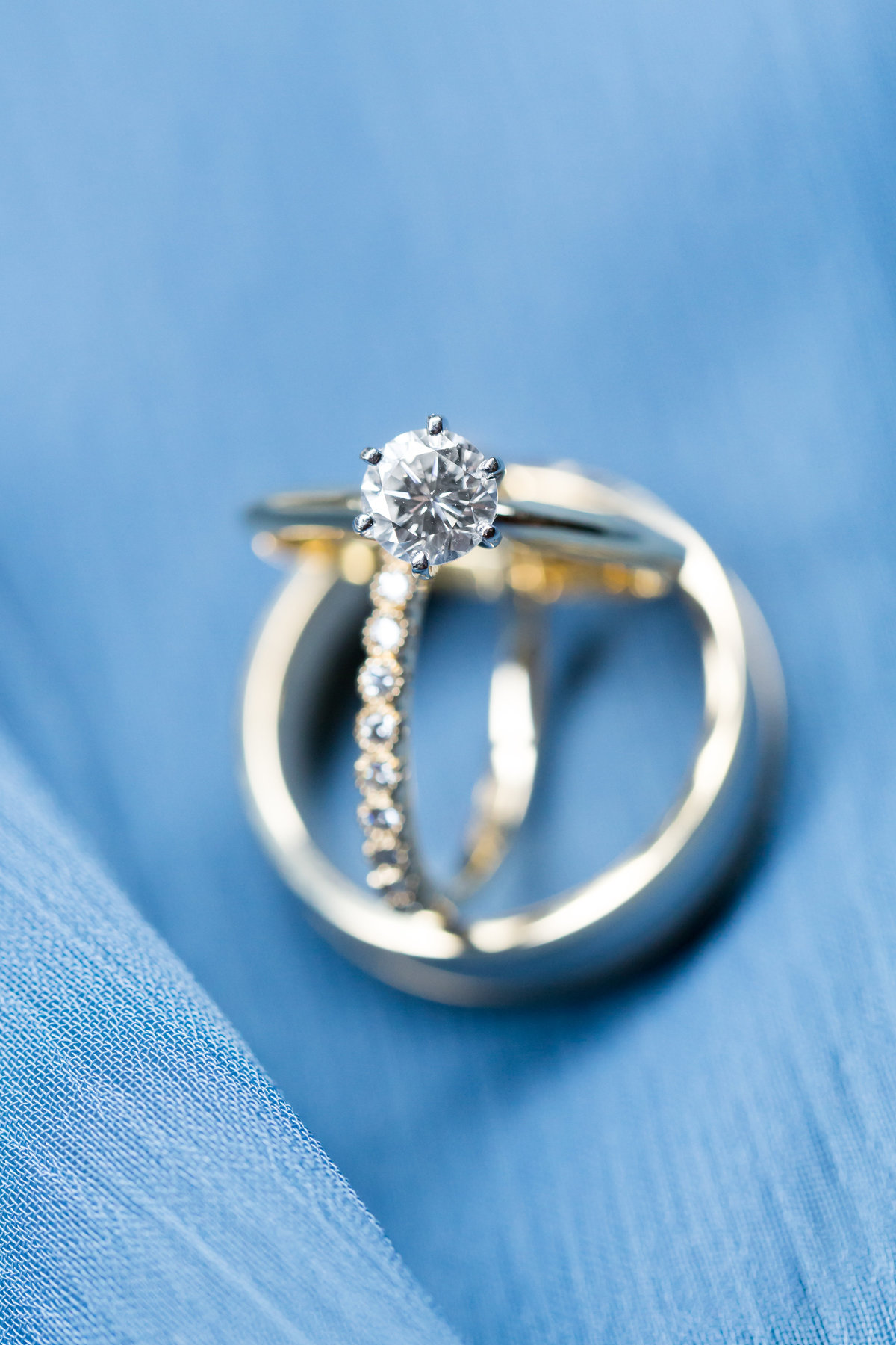 Wedding photography of Wedding Rings at Stevenson Ridge