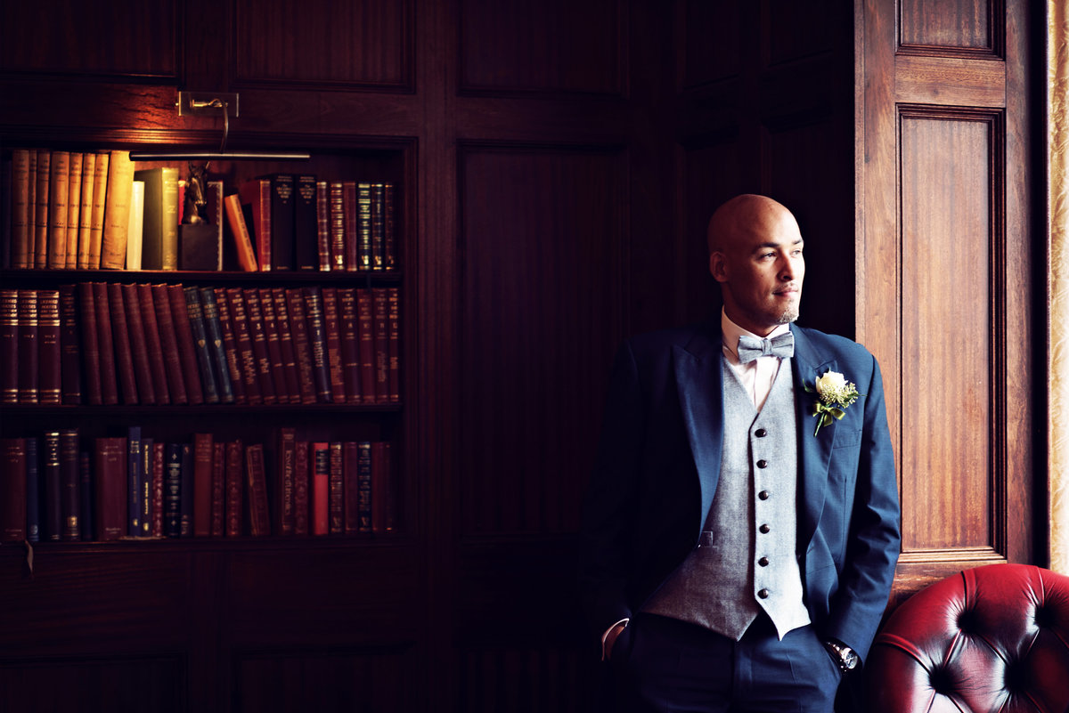 A Groom at Ashfield House