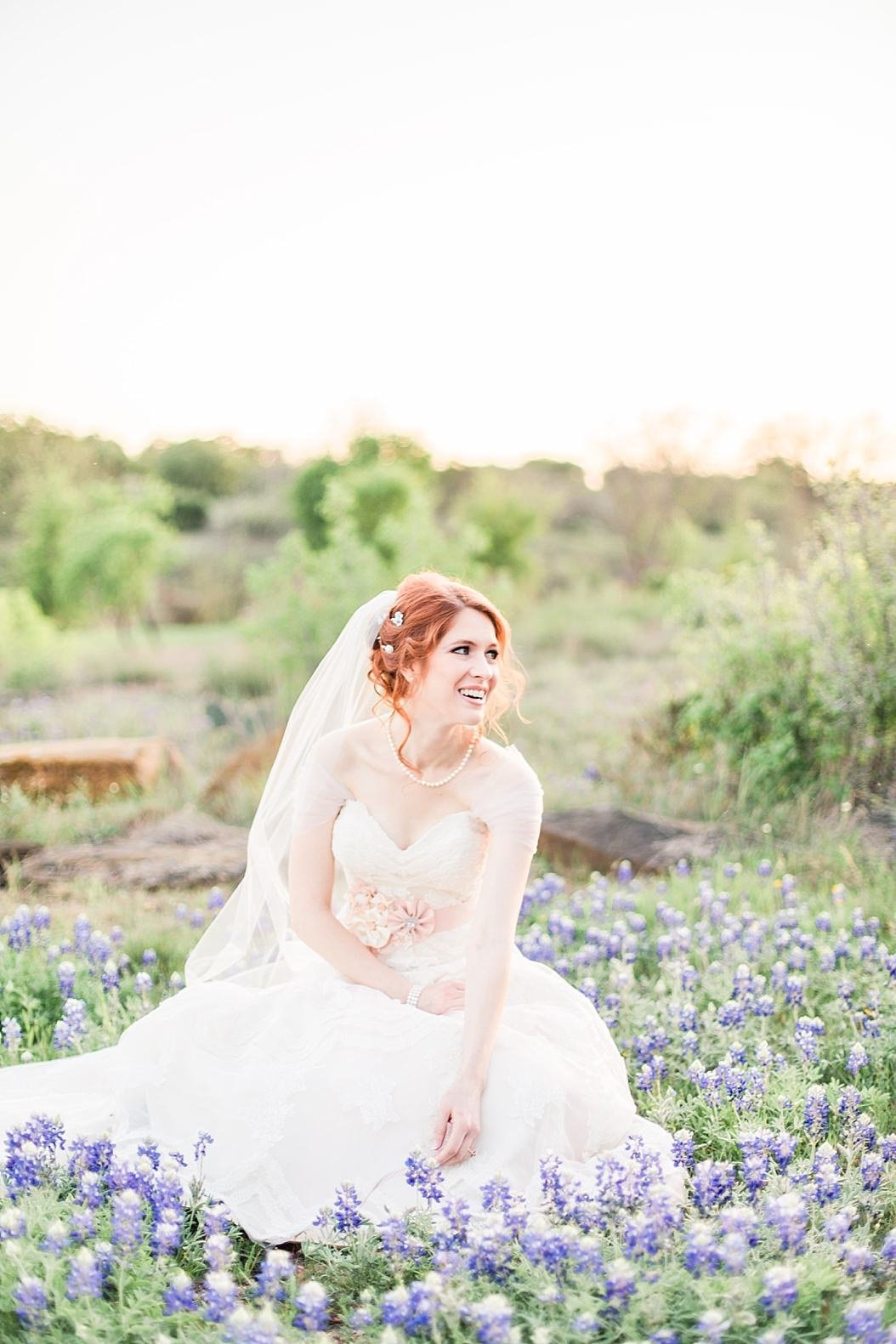 A spring bridal session at King River Ranch in Johnson City Texas by Fredericksburg Wedding Photographer Allison Jeffers Wedding Photography_0031