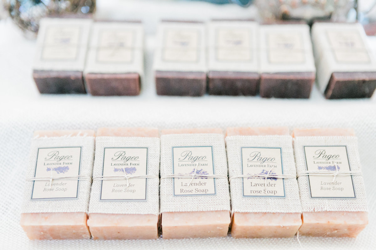 Pageo Lavender Rose French Milled Soap