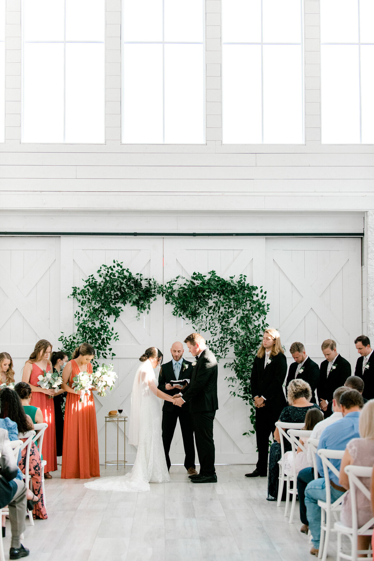 Anna & Billy's Wedding at The Nest at Ruth Farms | Dallas Wedding Photographer | Sami Kathryn Photography-77