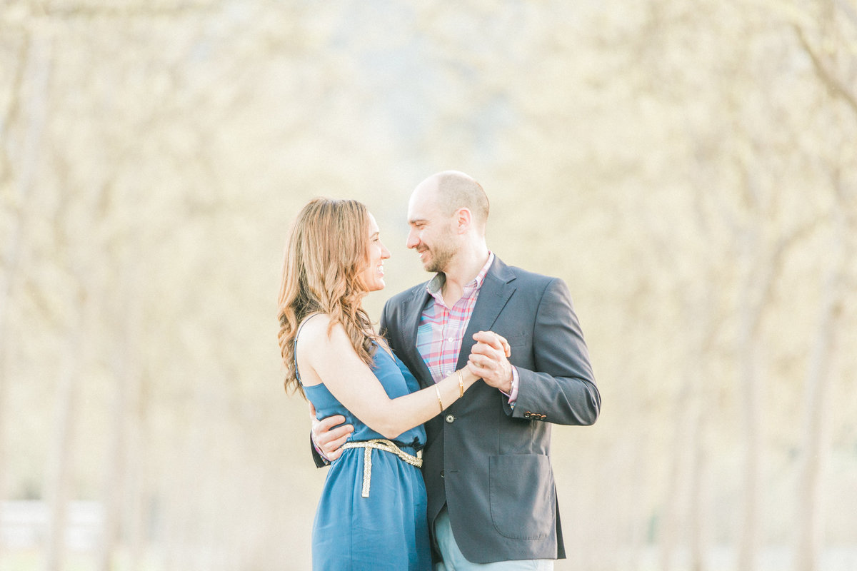 Napa Wine Country Engagement Photos