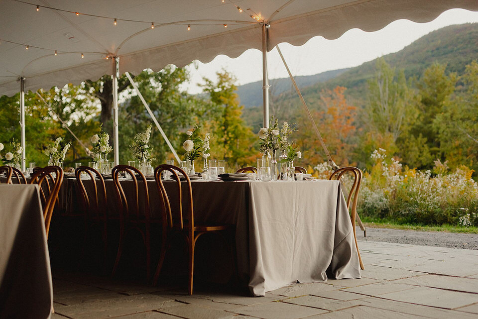 Tented Wedding Catskills Scribners Lodge Wedding Catskills Wedding Venue Wedding Planner New York Upstate Wedding Planner Canvas Weddings