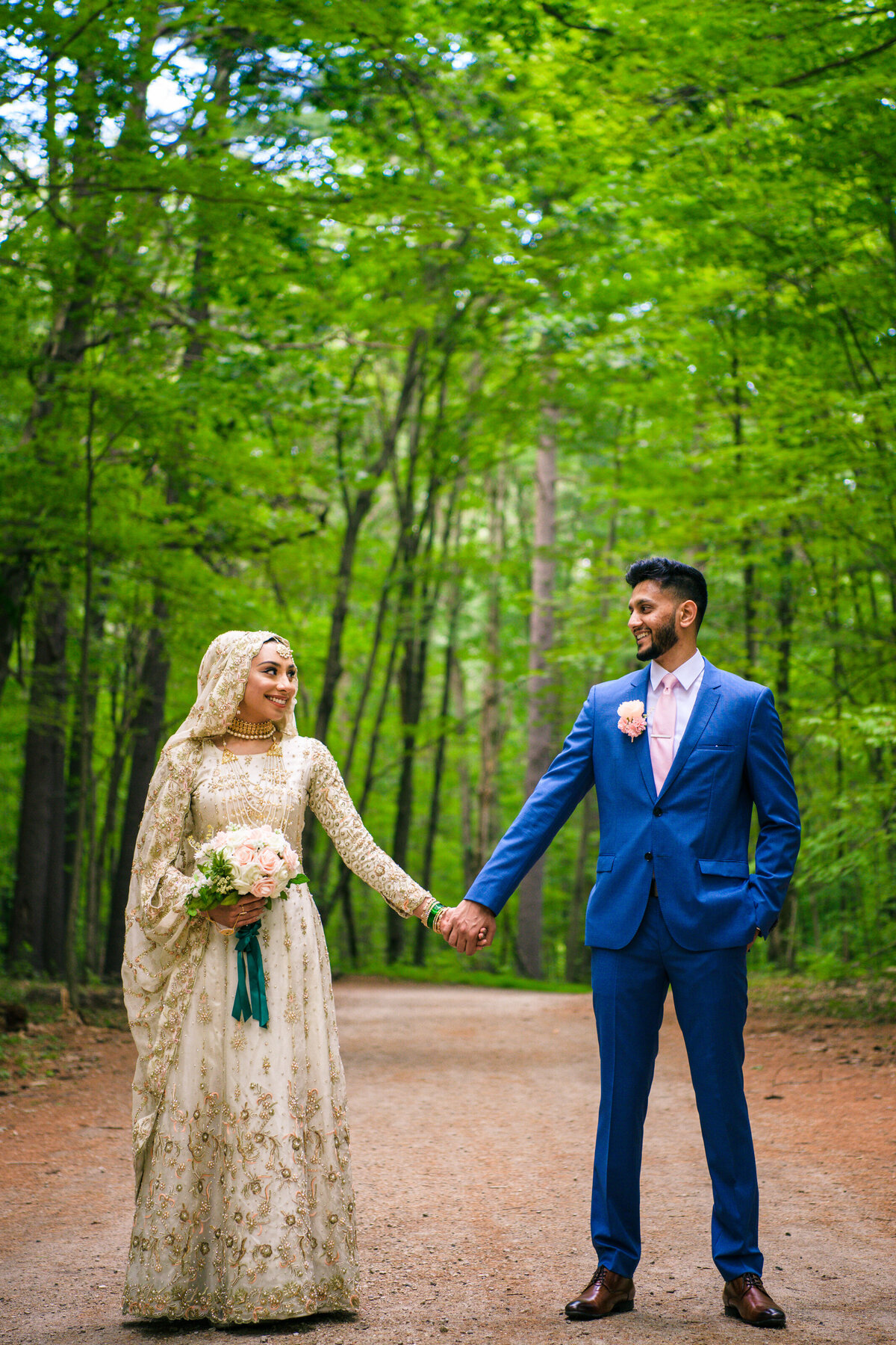 Nashua New Hampshire Muslim Outdoor Wedding