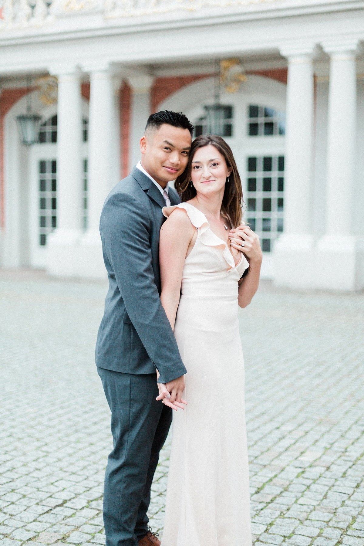 Germany palace engagement session photographed by destination photographer Alicia Yarrish