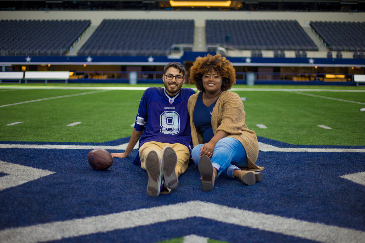 Dallas Cowboys engagement photographer-87