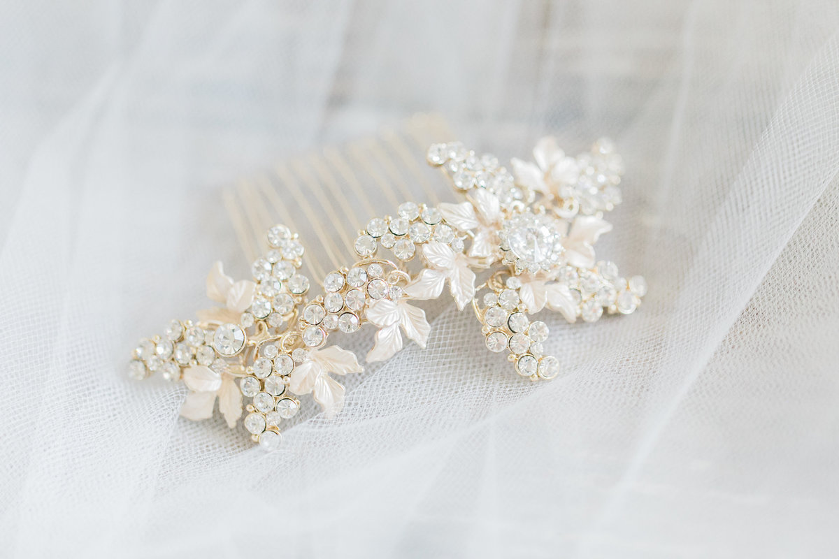 Jeweled Bridal Comb