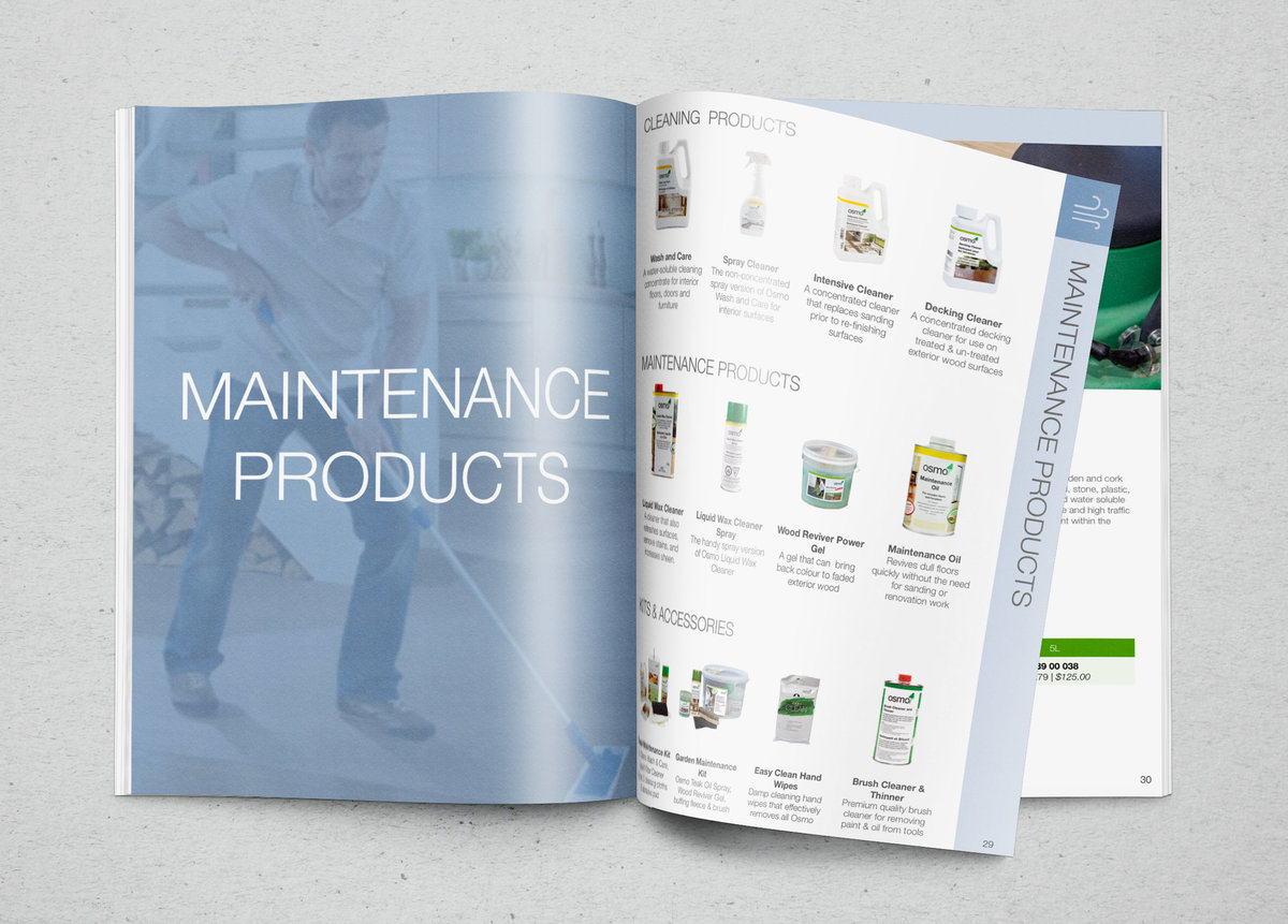Osmo Dealer Catalogue Maintenance Category Pages