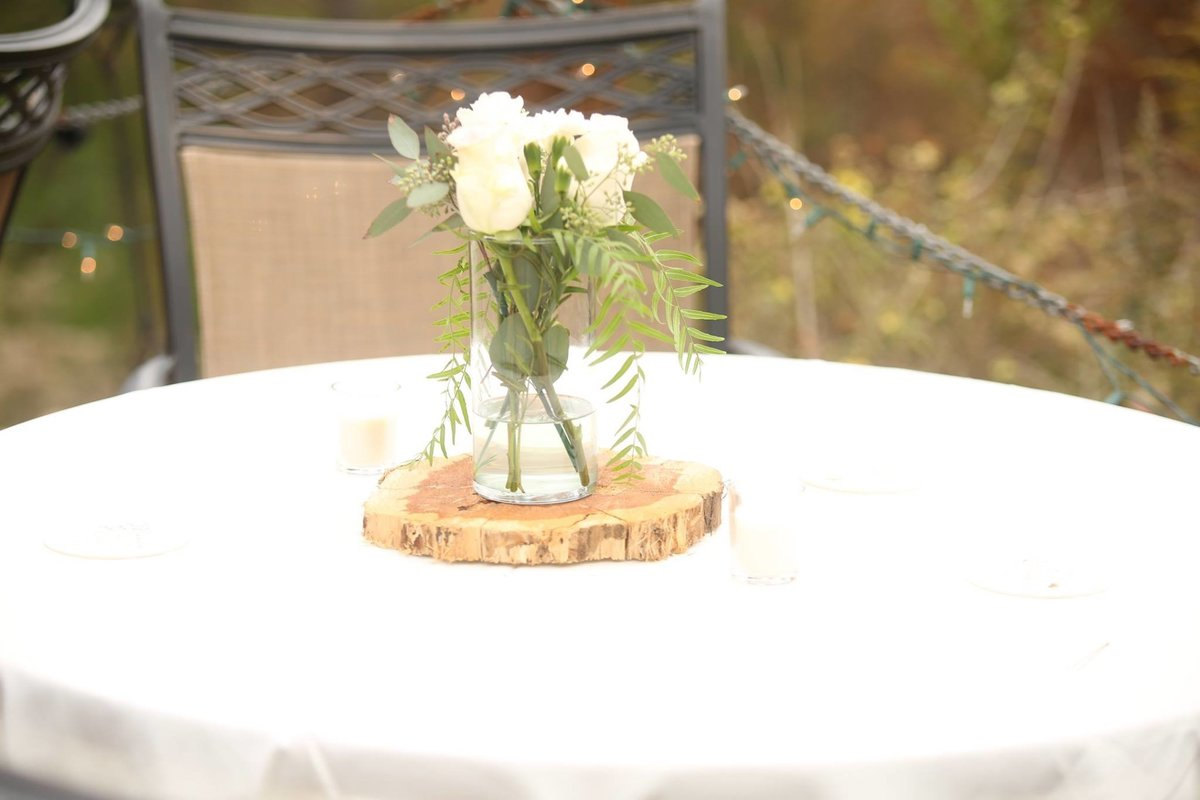 roland, arkansas wedding decor