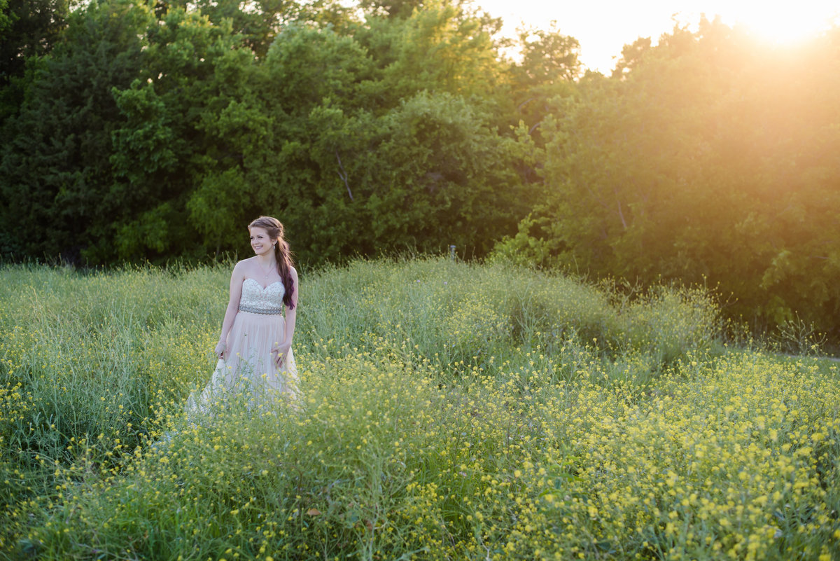 Arbor Hills Nature bridal session