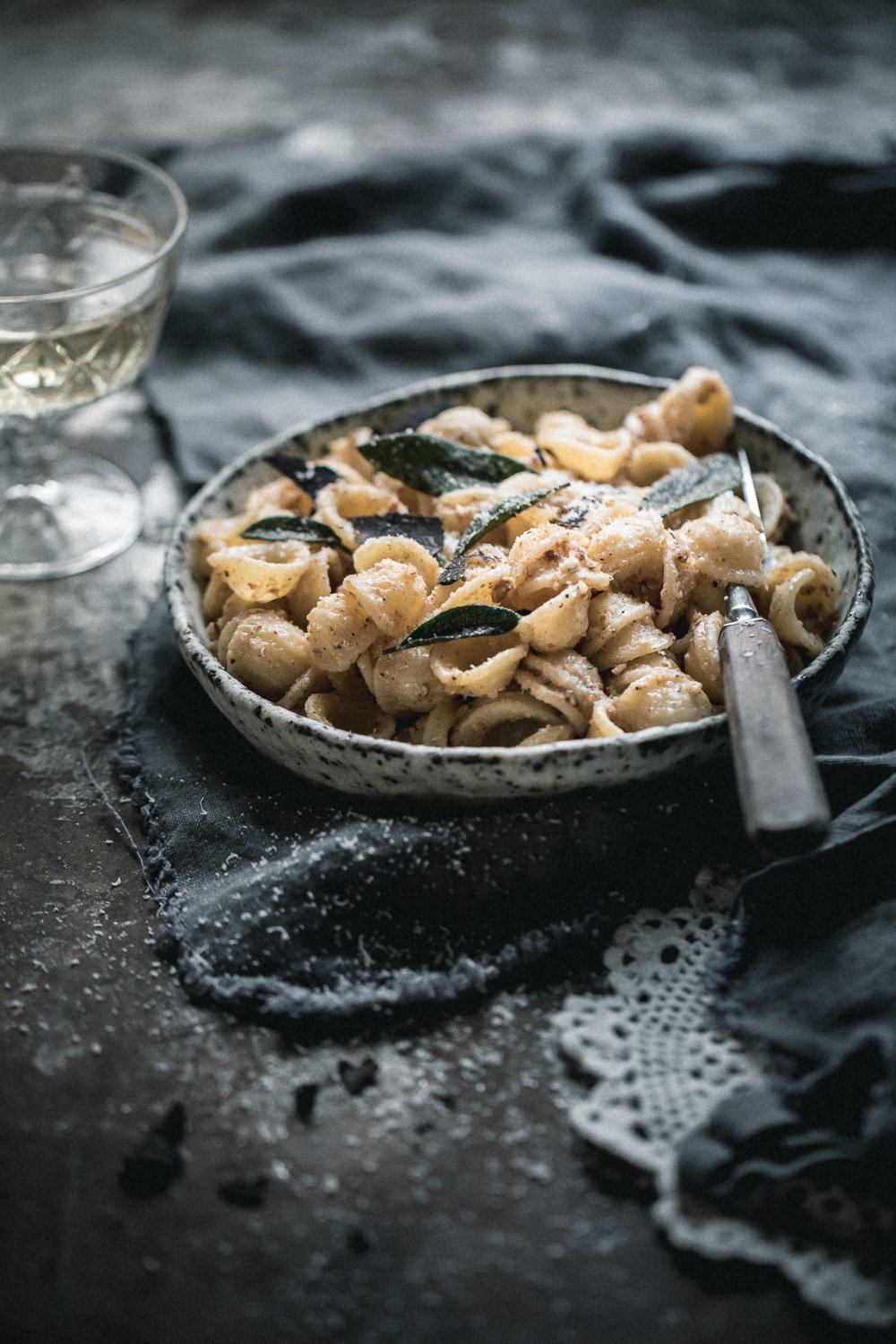 Black Truffle Burnt Butter, Walnut & Sage Orecchiette - Anisa Sabet - The Macadames - Food Travel Lifestyle Photographer-62