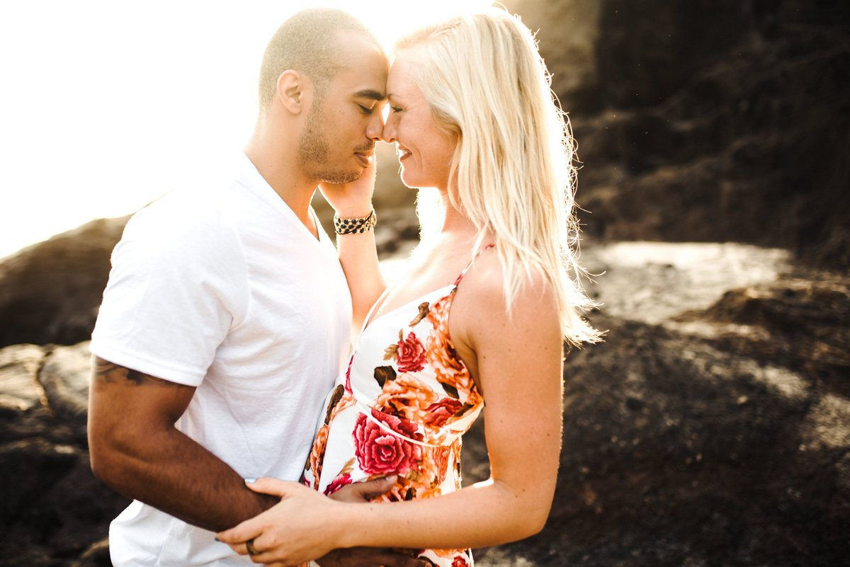 Eternity Beach Honolulu Hawaii Destination Engagement Session - 9