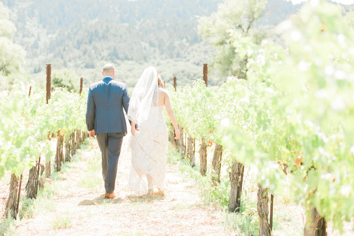 West Coast Wine Country Wedding