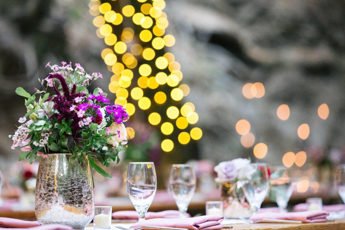 Boho wedding table