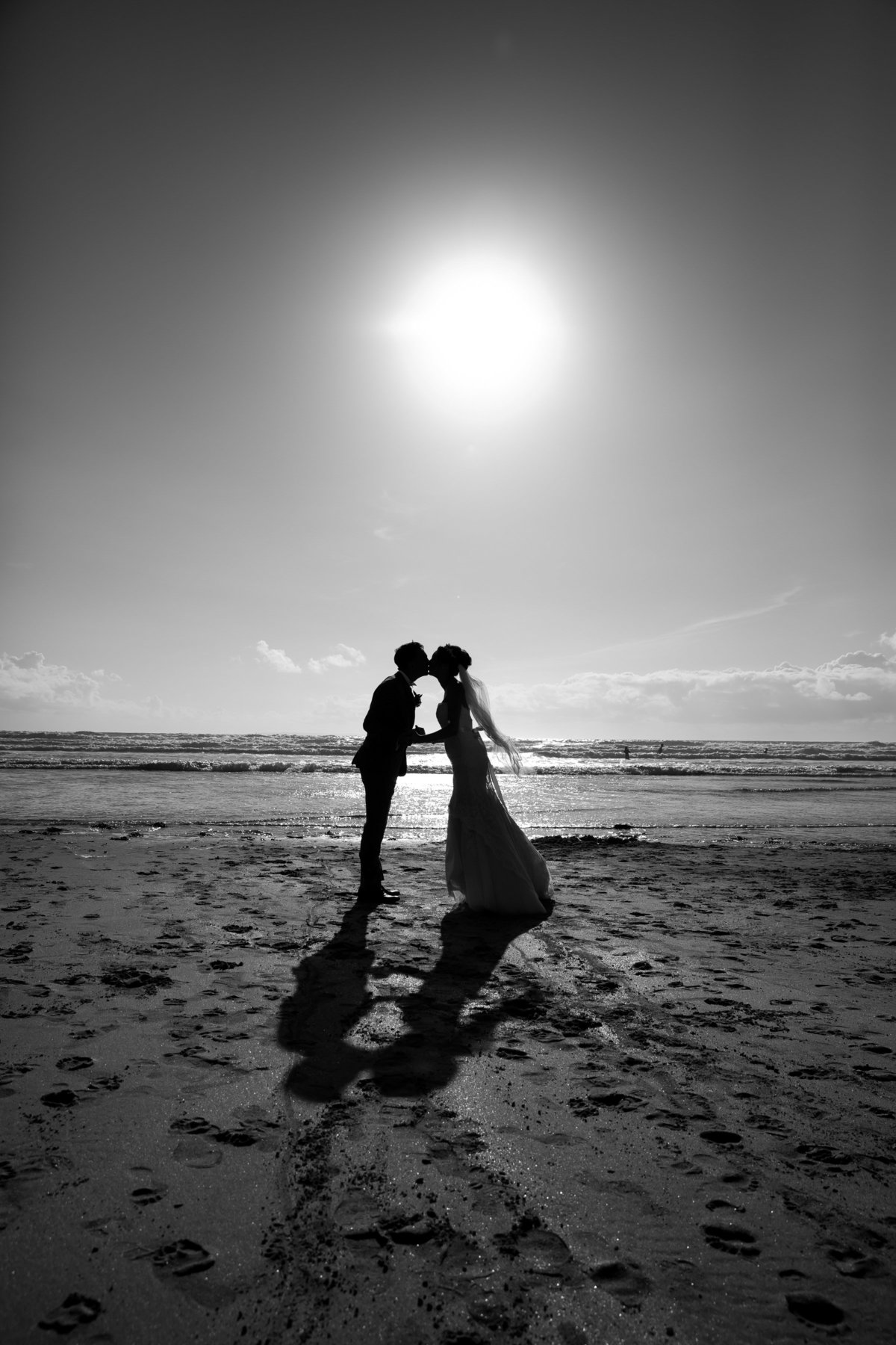 beautiful beach wedding devon