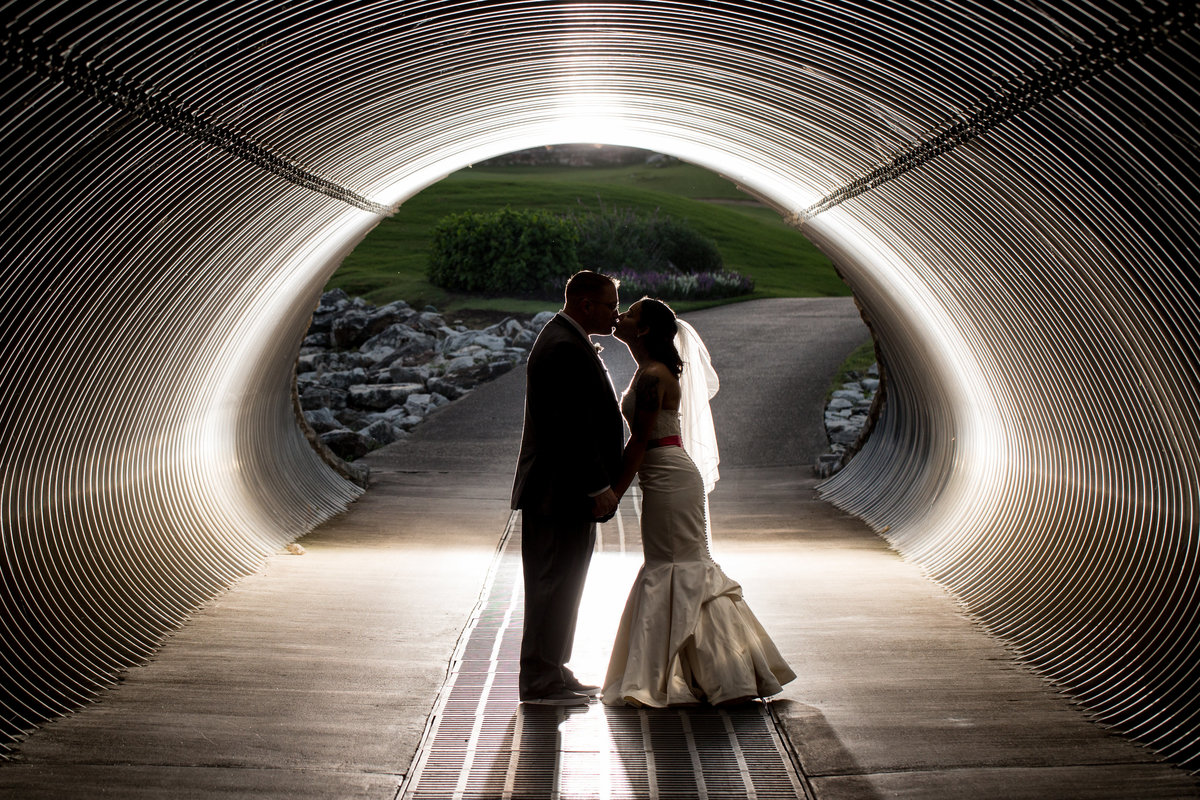 san antonio wedding photographer bride groom tunnel San Antonio, TX