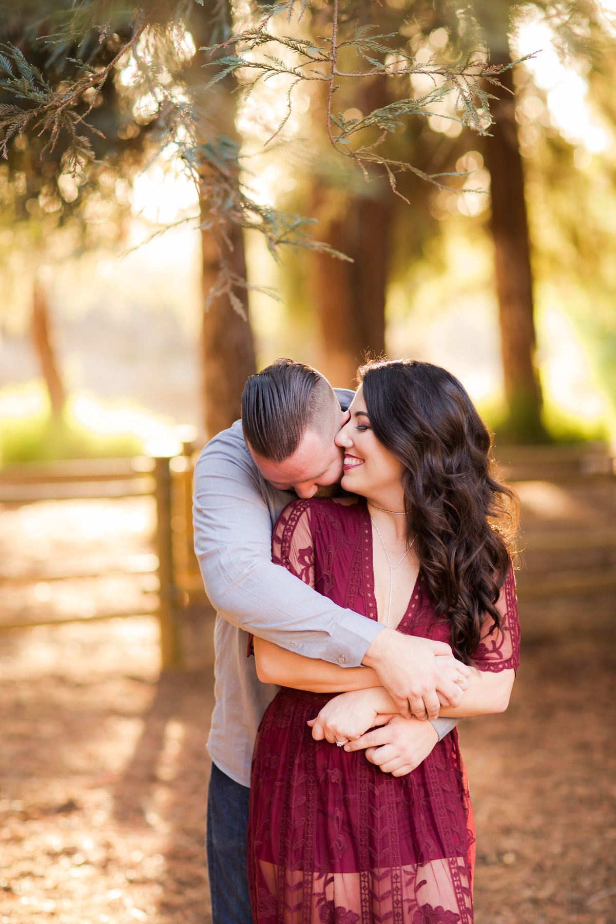 bride and groom engagement nature outdoor wedding colorado wedding romantic