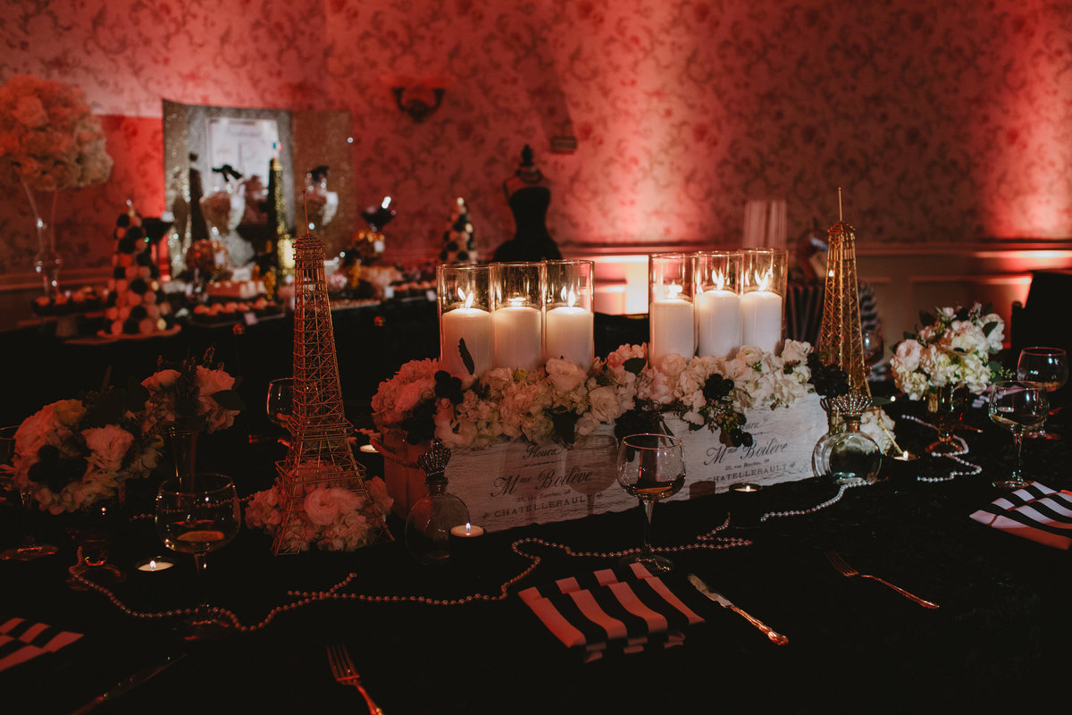 Parisian Sweet 16 Birthday Party New Jersey Event Planner 18