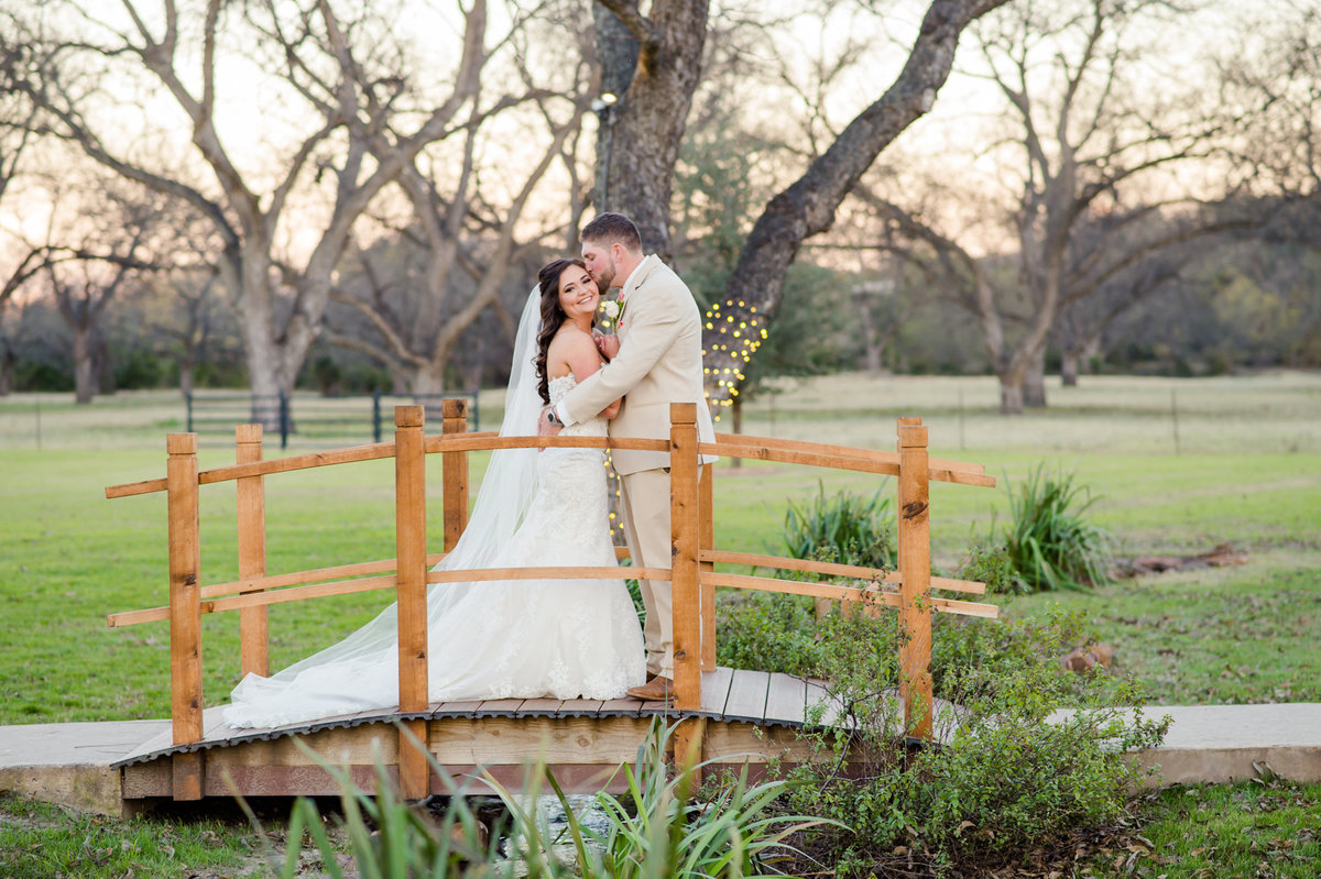 The Orchard in Azle wedding photo