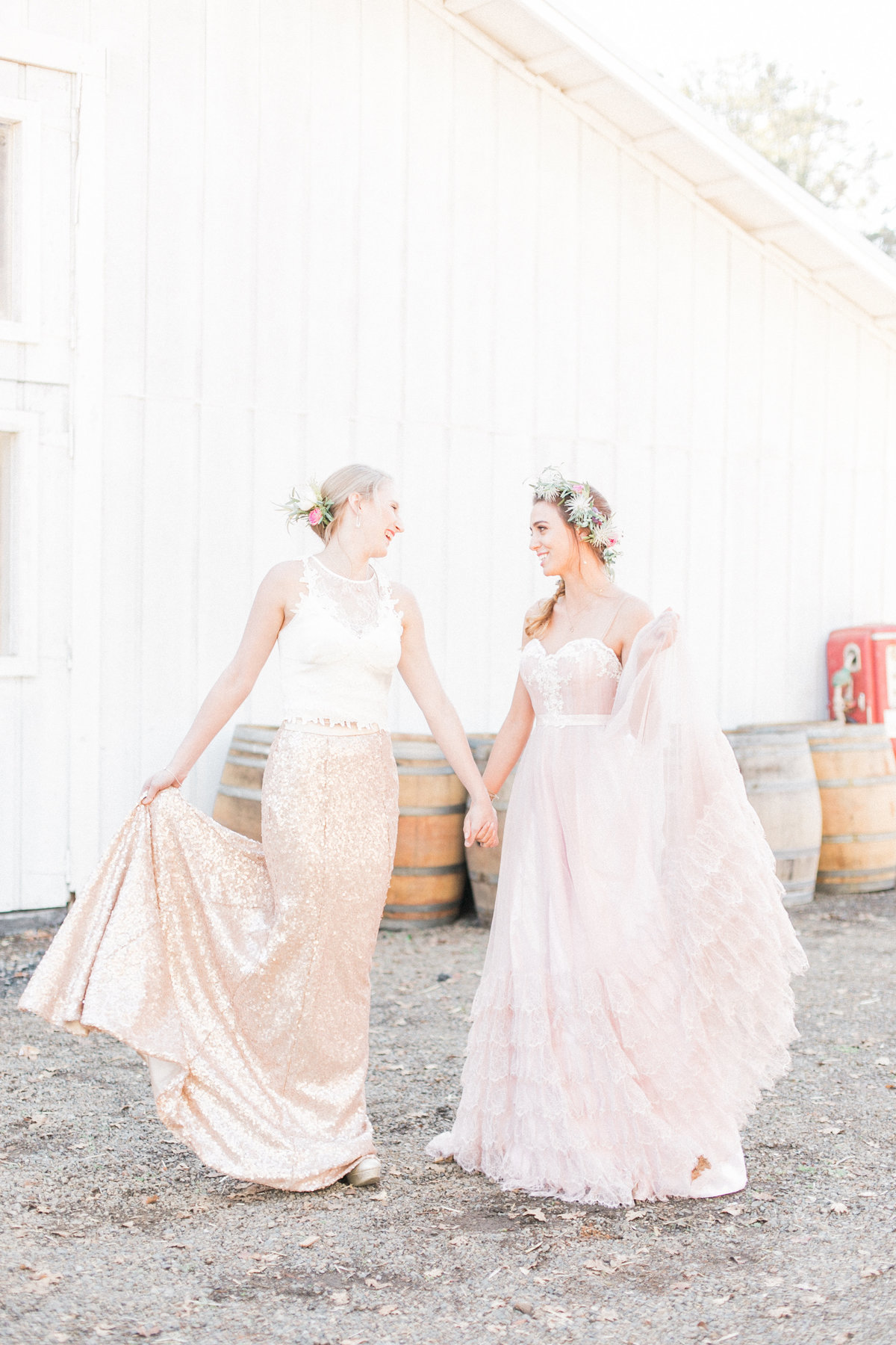 California Barn Weddings French Oak Ranch