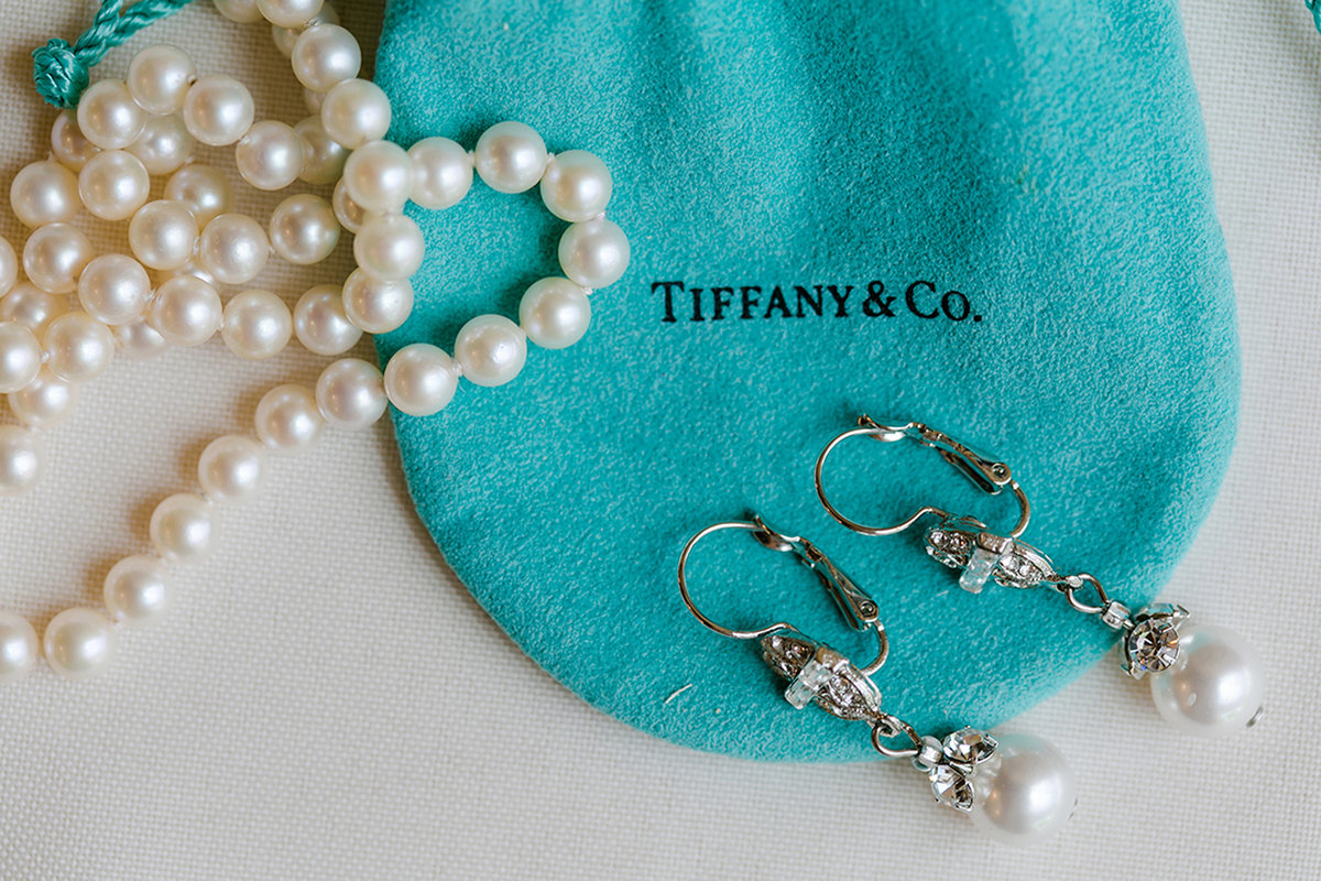Tiffany & Co detail shot