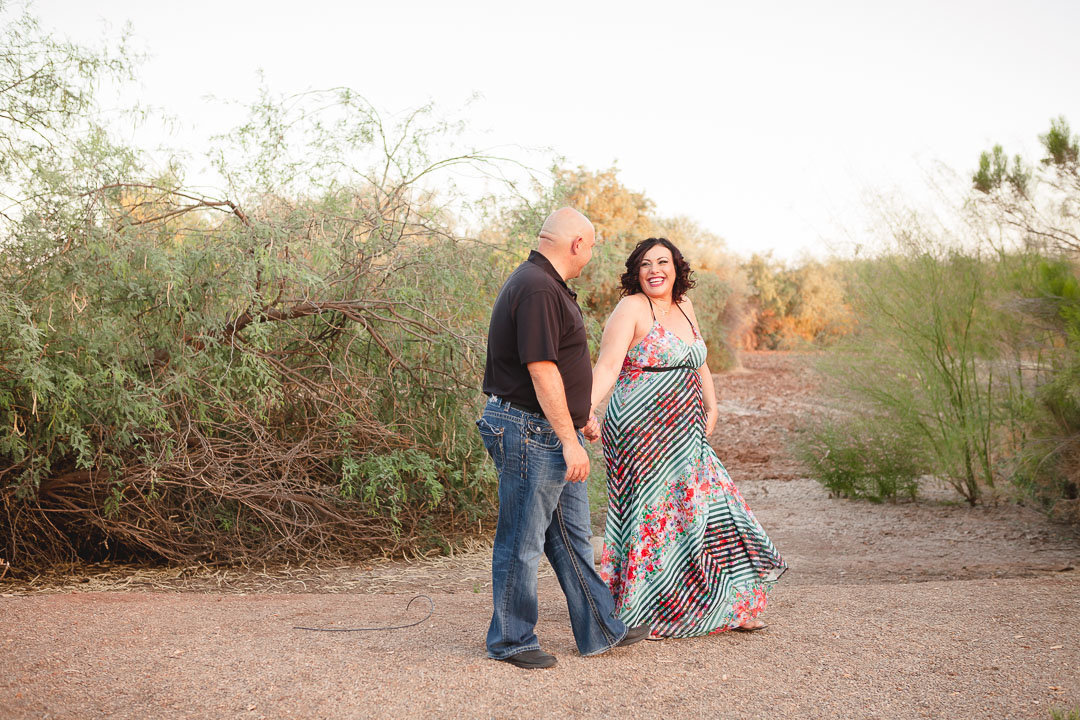 desert maternity photo shoot-2