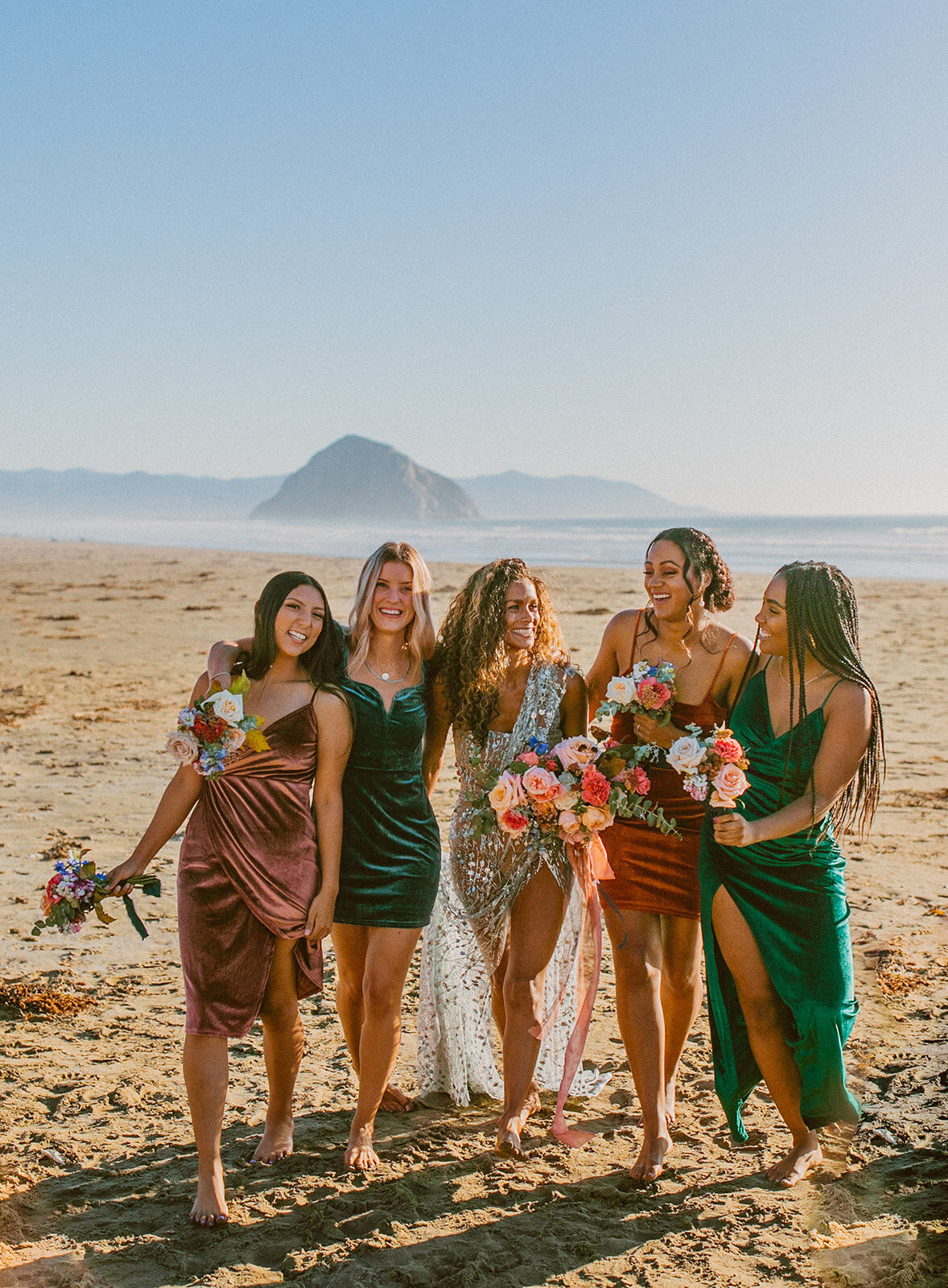 Bold_Bohemian_Beach_Bridesmaids_Jewel_Tones
