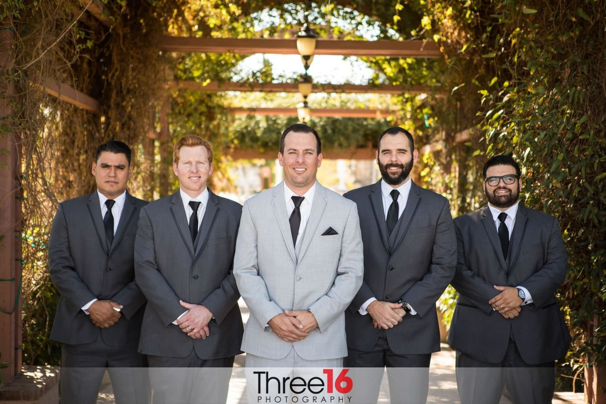 A Groom and his Groomsmen