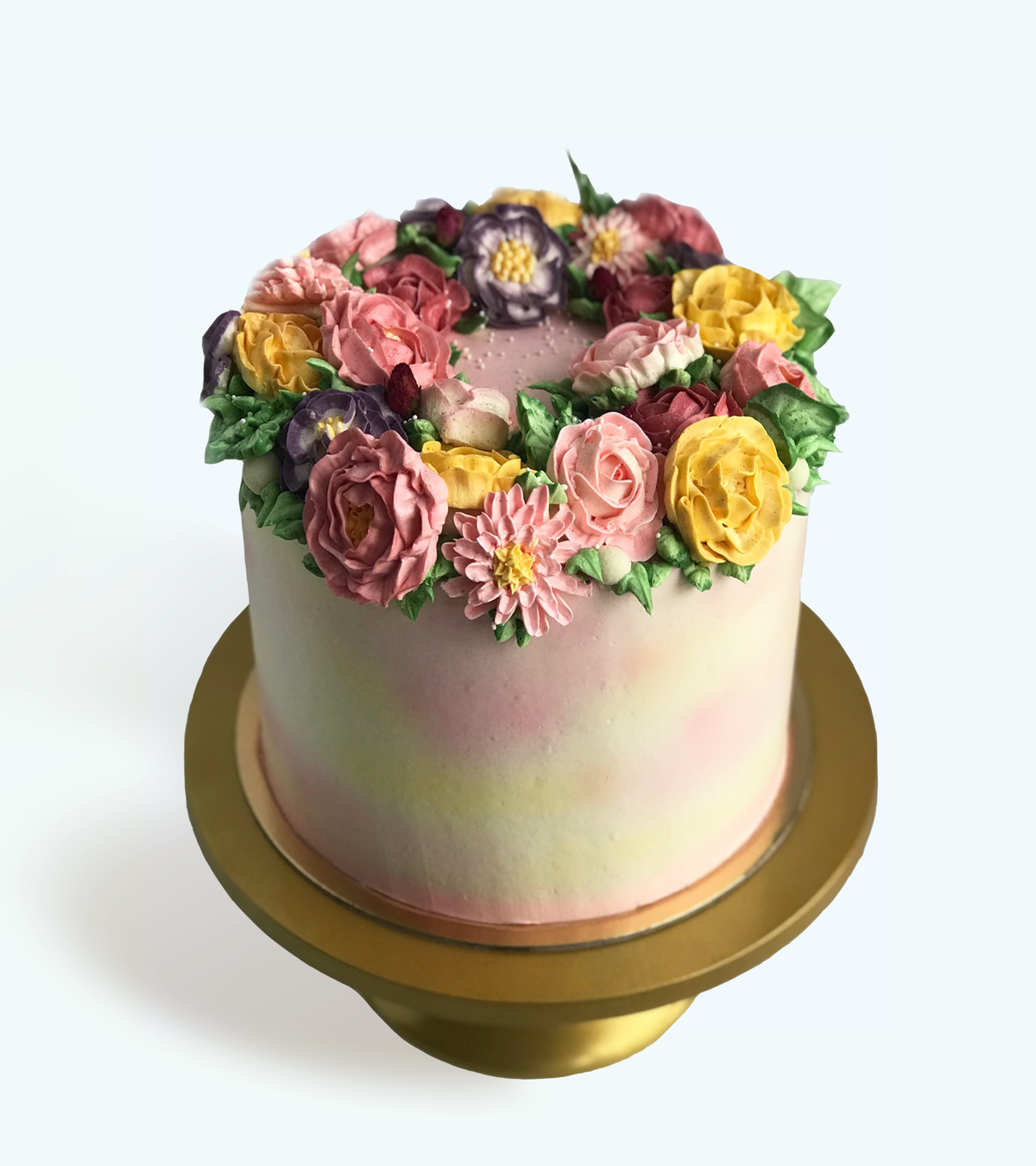 Whippt Desserts - Flower Power cake Oct 2018
