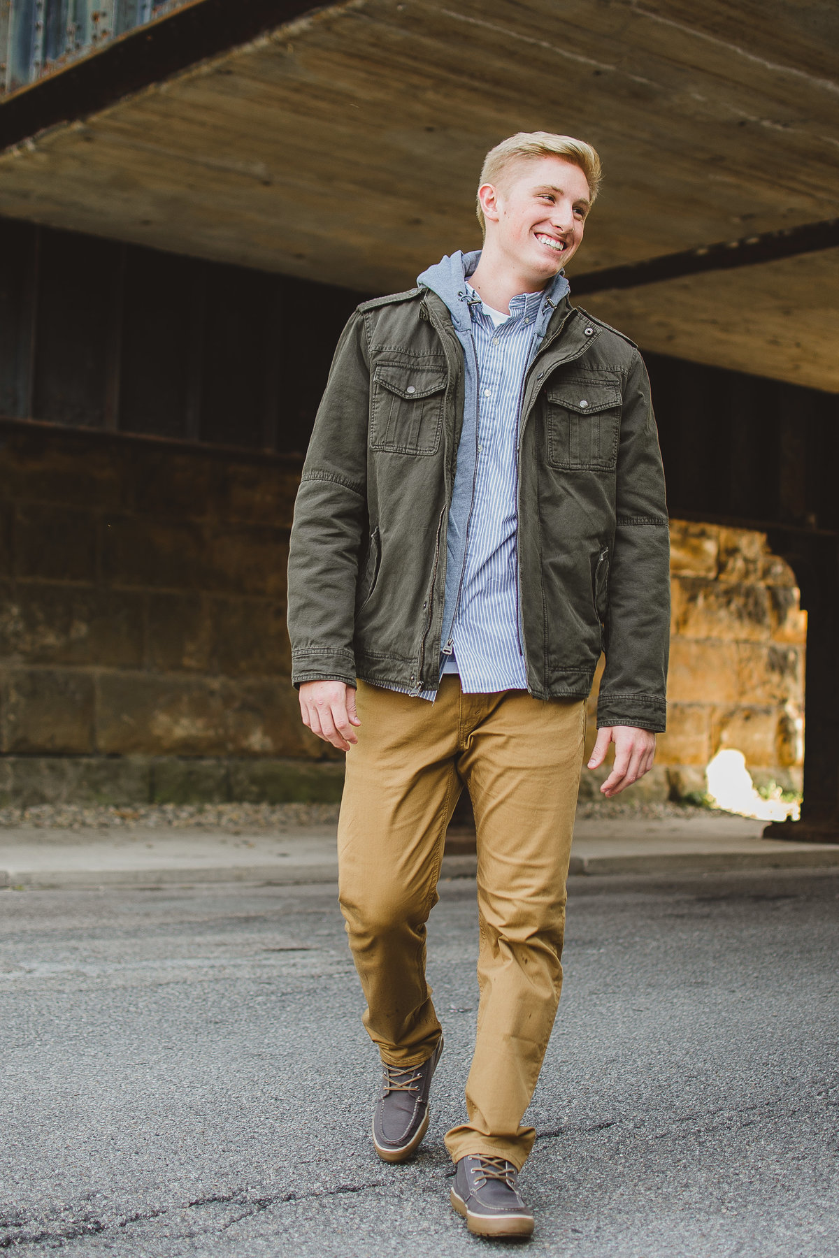 Senior Session in Streets