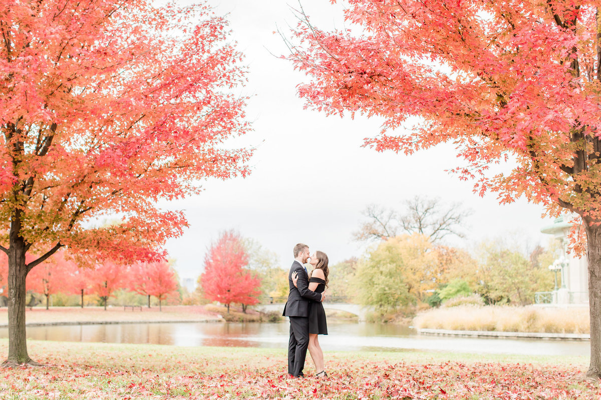 Fall Engagement Session The Muny