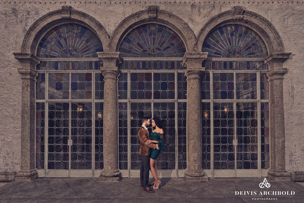 Vizcaya Miami Engagement Session Deivis Archbold Photography