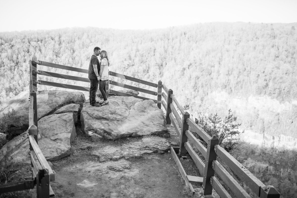 The Breaks Interstate Park Engagement Session
