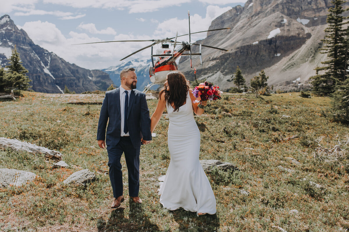 Alpine Helicopter Elopement Package