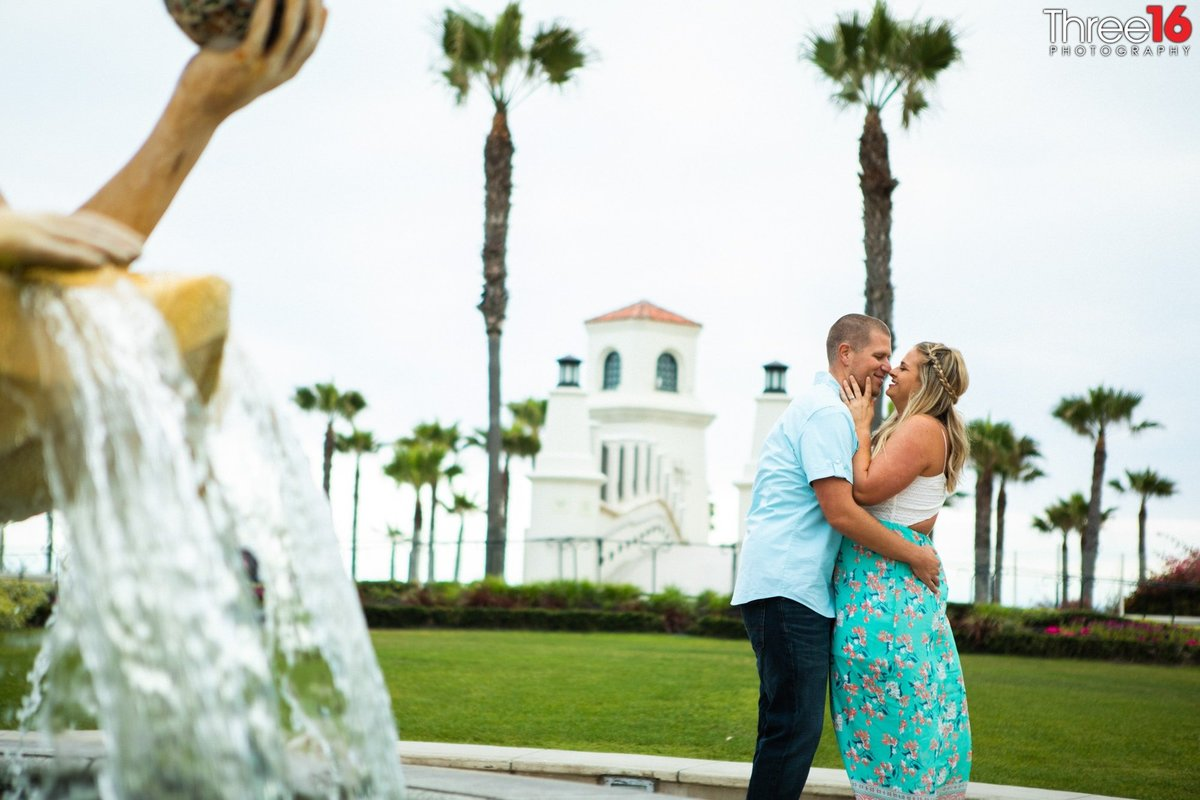 Huntington Beach Pier Engagement Photos