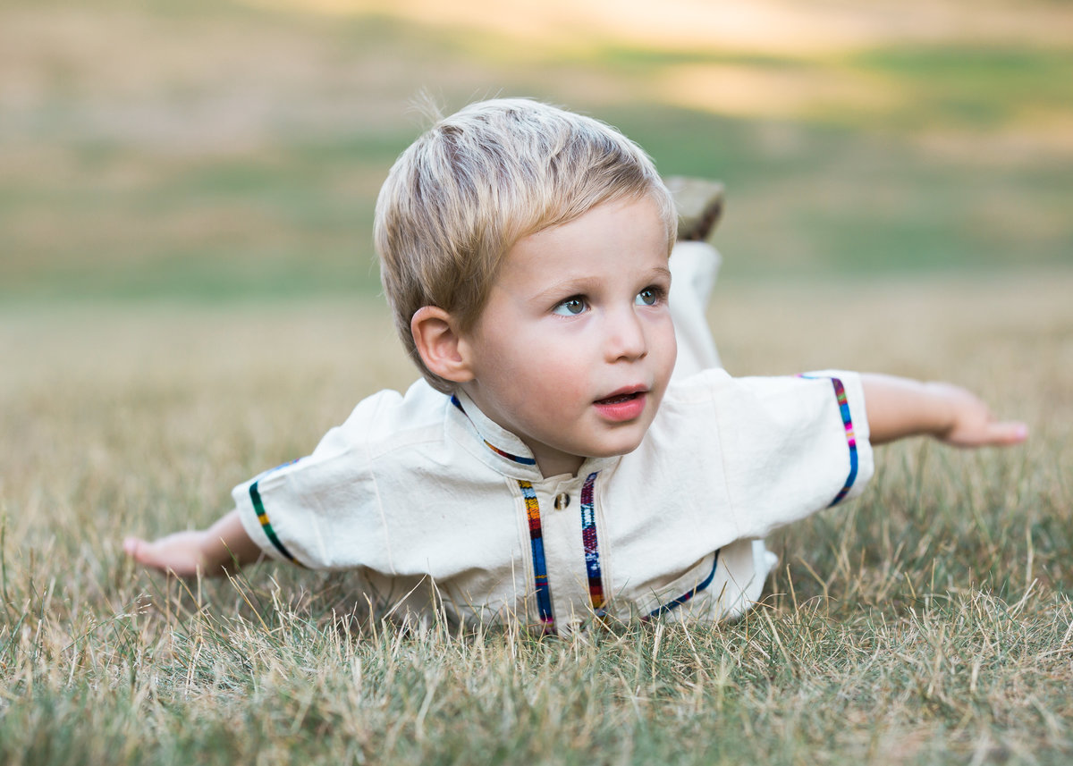 Outdoor family session with CT photographer Karissa Van Tassel