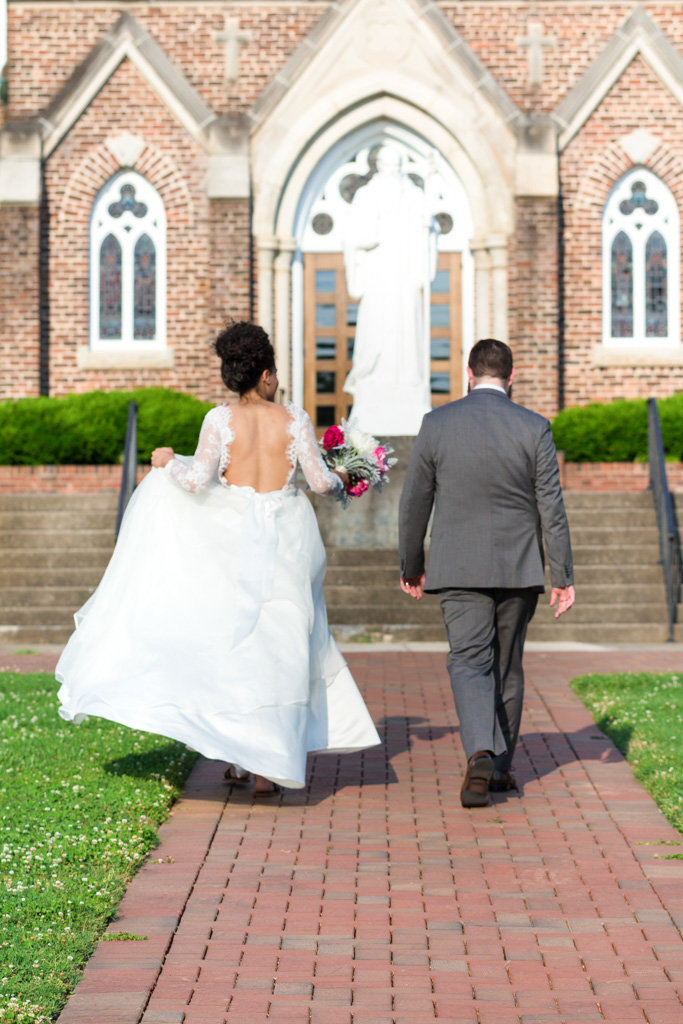 Claudia + Zack Belmont Abbey Elopement_ Mane and Grace Photography (7 of 13)