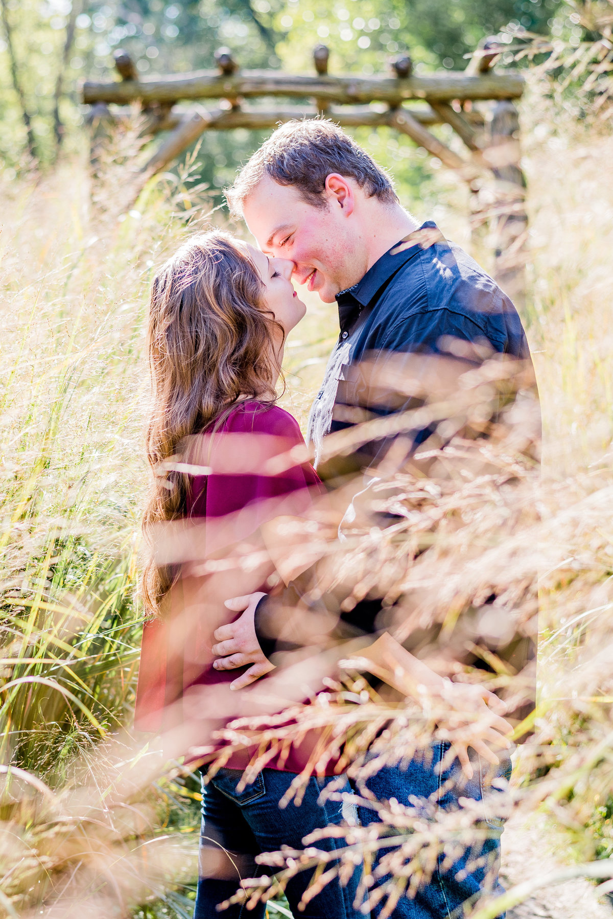 Engagement Photographer Couple Photographer 100 Acres Rustic Engagement-23