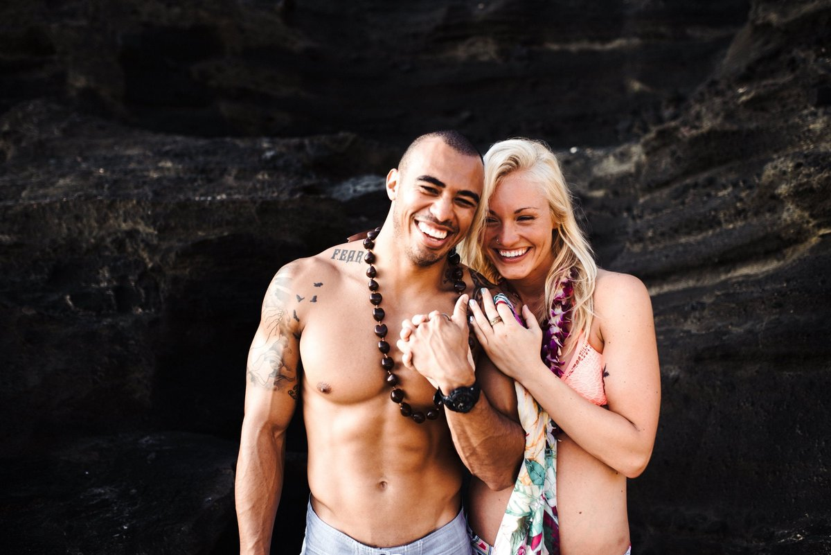 Eternity Beach Honolulu Hawaii Destination Engagement Session - 71