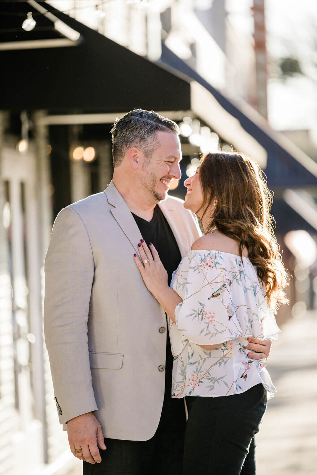 Dallas Fort Worth Engagement Session by White Orchid Photography